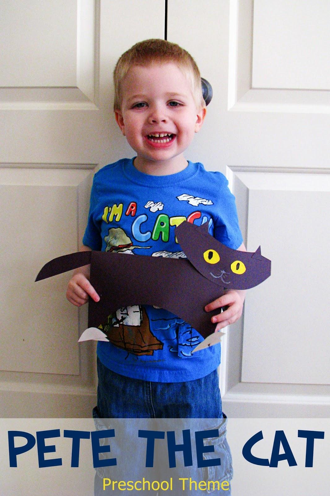 Mommy S Little Helper Pete The Cat Preschool Theme