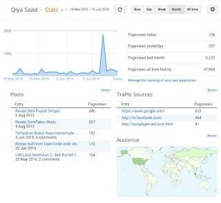 Google Analytics Pantau Pageview (PV) dan Blog Performance