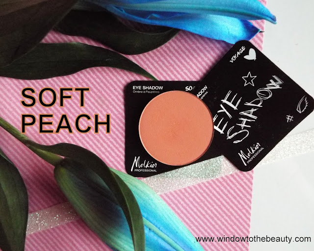 Melkior Soft Peach review and swatches