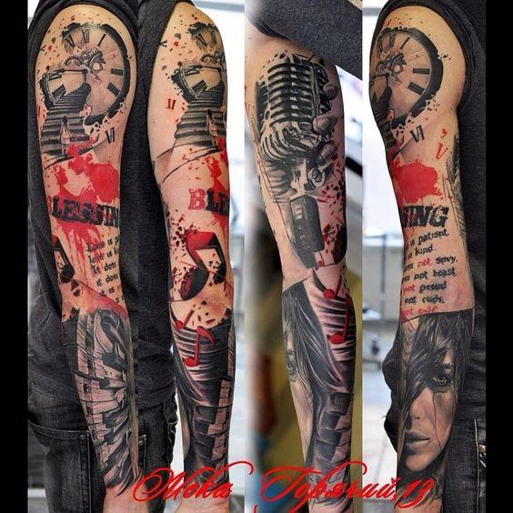 Tatuagem no braço Tipos