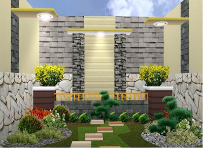 Biaya Renovasi Rumah - Contoh Renovasi Taman Minimalis 2