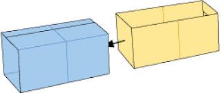 Bước 8: Nhét giấy ở phần 1 vào để hoàn thành gấp hộp giấy