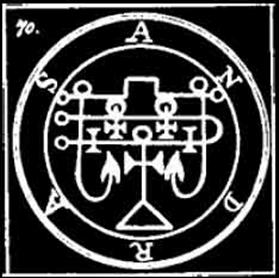 andras, sigilos, daemon, goetia, demonologia