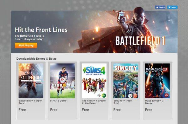 Kembali bertarungnya dua franchcise raksasa Download Game PC Battlefield 1