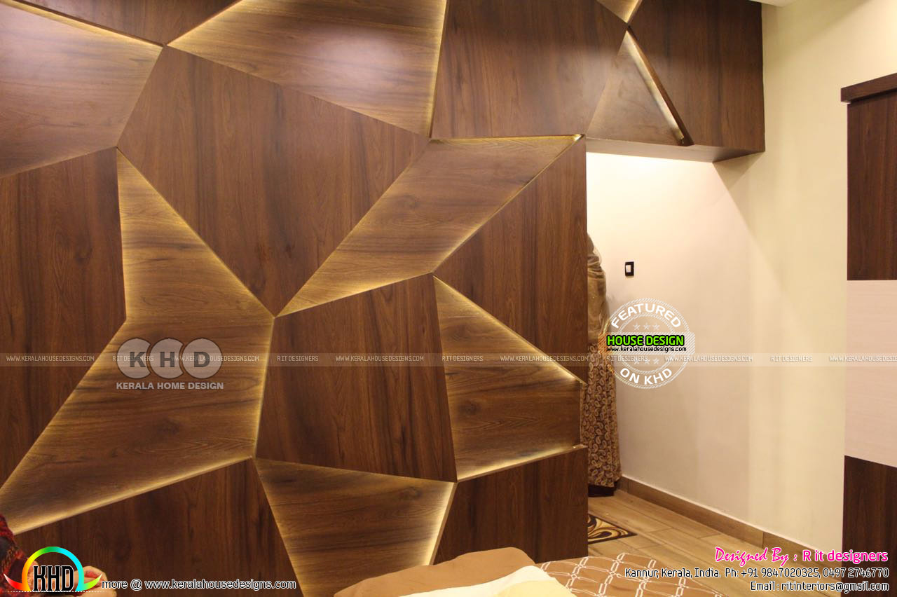 Work Finished Interiors In Kerala Kerala Home Design And