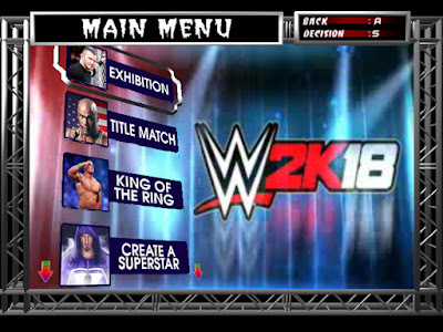WWE 2K18 PC Game Free Download Highly Compressed Android