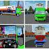 Mod Truck Fuso Fighter Angkut Lokomotif