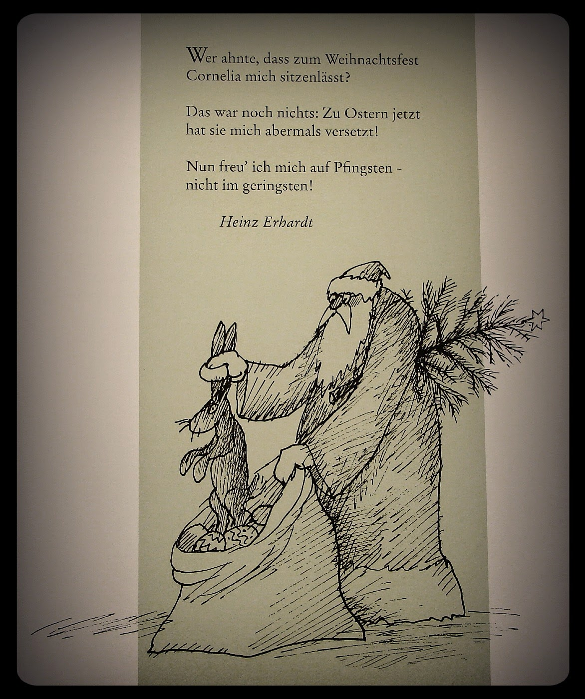 Heinz Erhardt Gedicht Pfingsten Beliebter Weihnachtsblog