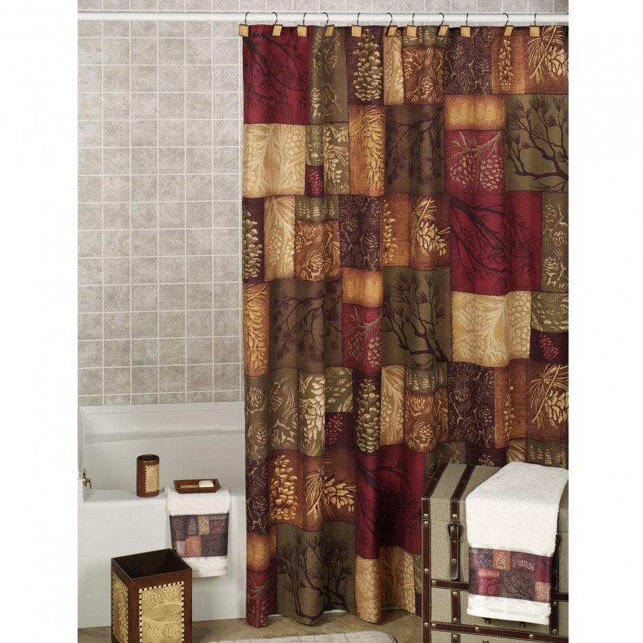 Tipos de cortinas para tu ba o revista tendenciadeco - Cortinas de bano de diseno ...