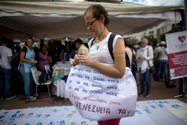 Parlamento dice que más de 2.000 venezolanos con cáncer mueren por crisis sanitaria
