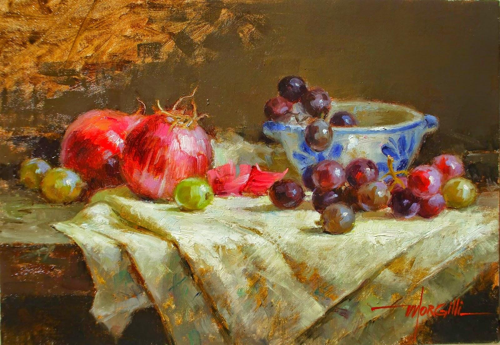 Luis Claudio Morgilli 1955 Impressionist Painter Tutt