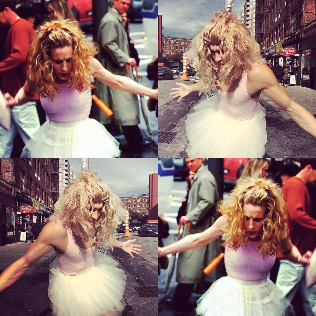 Fã de 'Sex and The City', americano dá vida a Carrie...'Dragshaw'