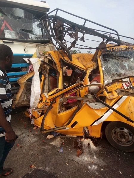 Lady Praises God After Escaping This Horrible Accident