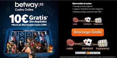 Betway 10 euros gratis sin deposito