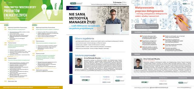 ulotki projekty konferencje broszury