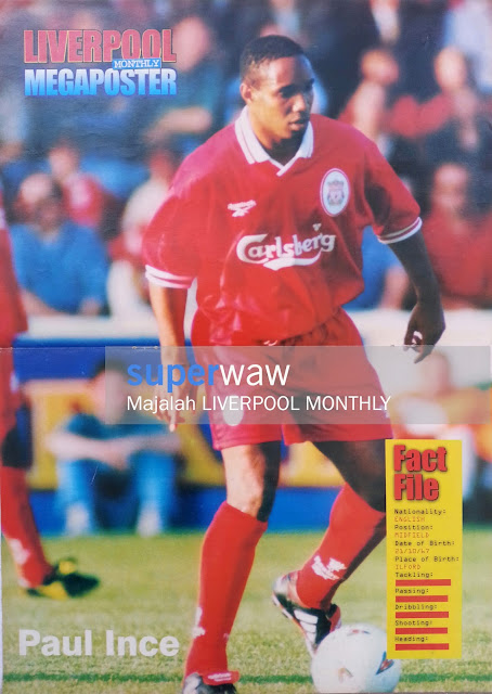 Poster Paul Ince Liverpool 1997