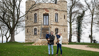 Ένα ρημαγμένο, μεσαιωνικό κάστρο έγινε η πιο όμορφη, σύγχρονη κατοικία
