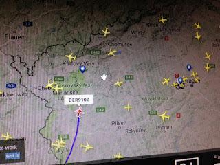 Auf dem Flug Radar: Flug BER91oz online verfolgt