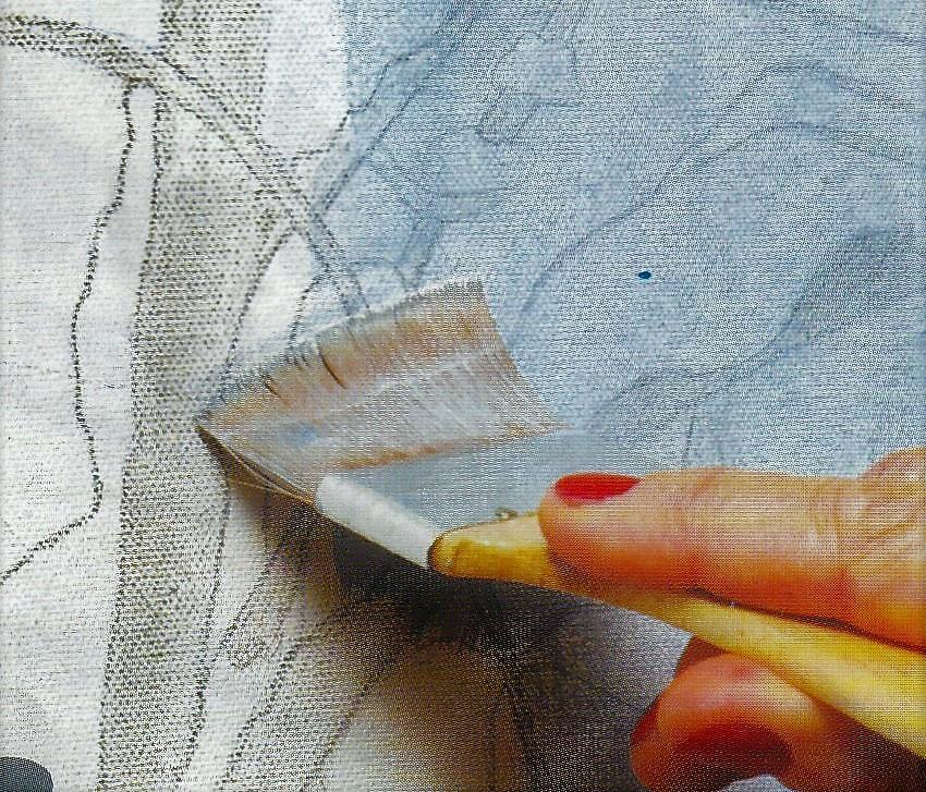 Miriam peters rouyer artiste peintre paysage d 39 hiver etape par etape - Dessiner un paysage d hiver ...