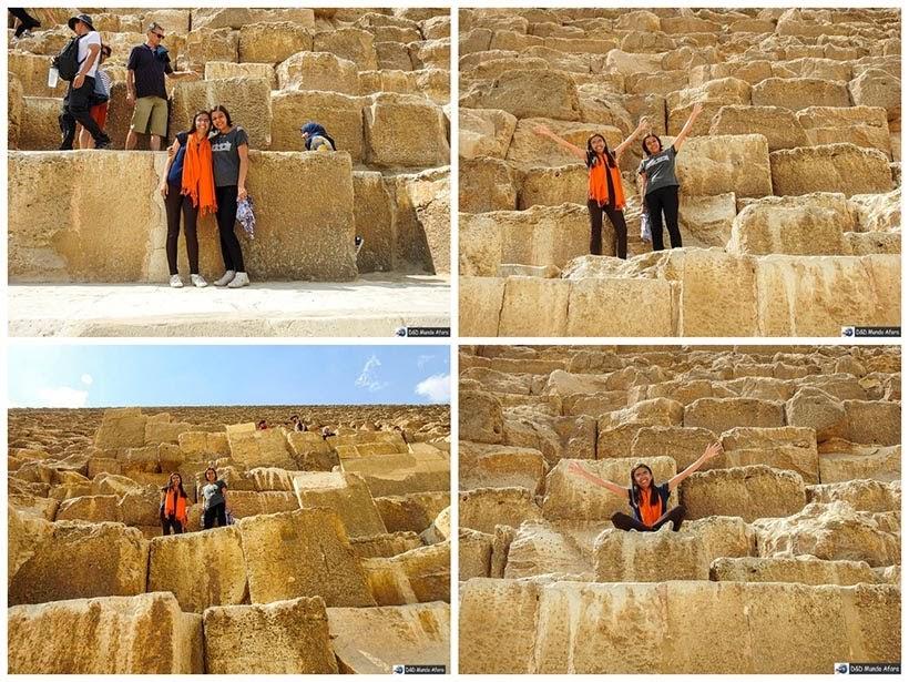 Pirâmide de Quéops - Diário de Bordo: 2 dias no Cairo