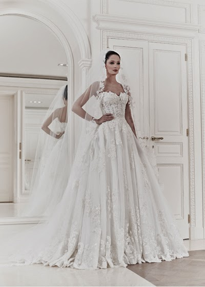 83e167904e5 The Zuhair Murad spring summer 2014 bridal collection has the potential to  sweep any fashionista off her feet. Whenever we get a chance to see new  Zuhair ...