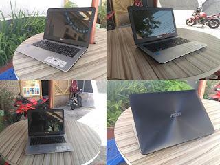 jual laptop bekas asus x455la haswell