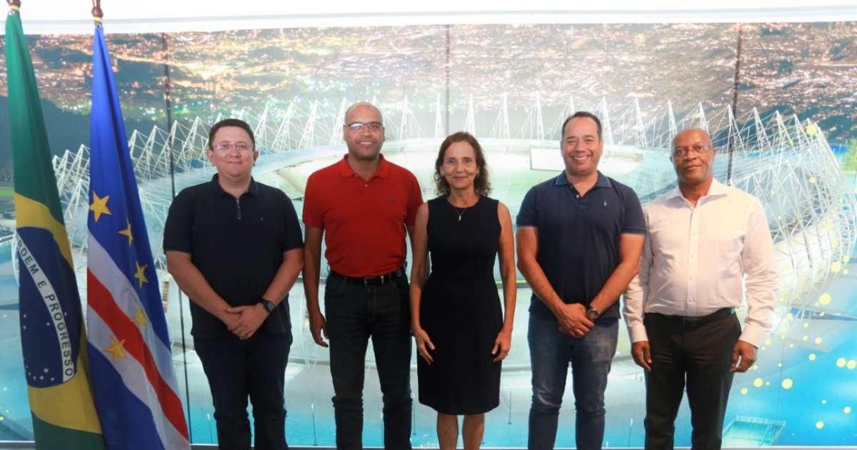 Ministros do Esporte do Brasil e de Cabo Verde visitam CFONE 65266de80621a