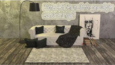 consejos decoracion alfombras
