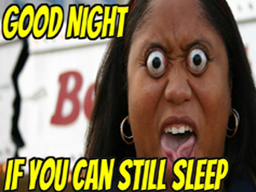 Funny Good Night Photo, Meme