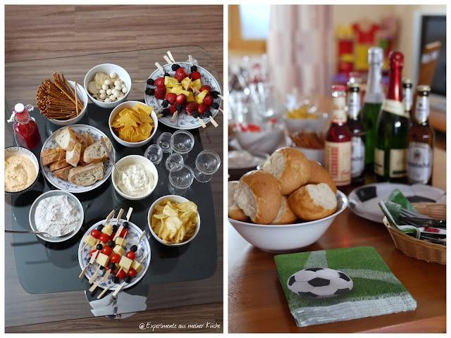 Experimente aus meiner Küche: Verpflegung für die EM 2016