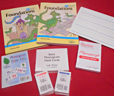 Just a few of the things you need for Foundations A