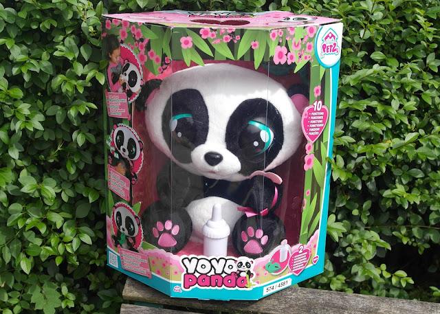 Club Petz YoYo the Panda - Blog Review  IMC Toys
