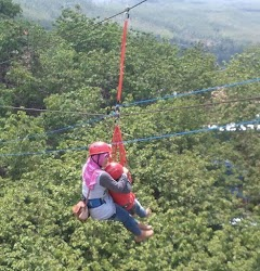Flying Fox, Wahana Baru di Obyek Wisata Bukit Pandang Kayen