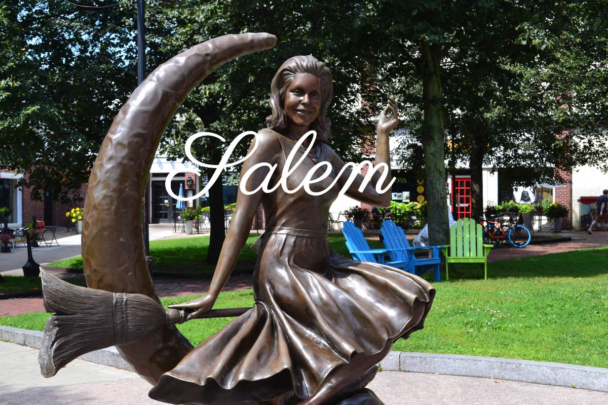 Visite de Salem, Massachussetts
