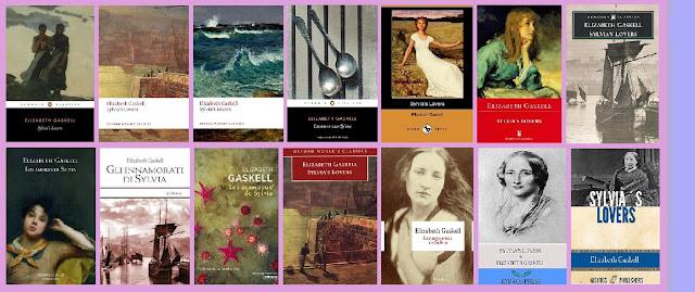 portadas del libro clásico Los amores de Sylvia, de Elizabeth Gaskell