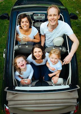 Juego, juegos, diversión, carretera, juego familiar, familia, trayecto, en carretera, coche