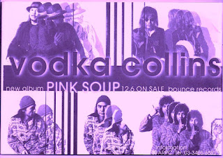 Vodka Collins Pink Soup (1997) album flyer. On the TowerBounce record label,