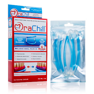 OraChill Mouthpieces help your braces to stop hurting