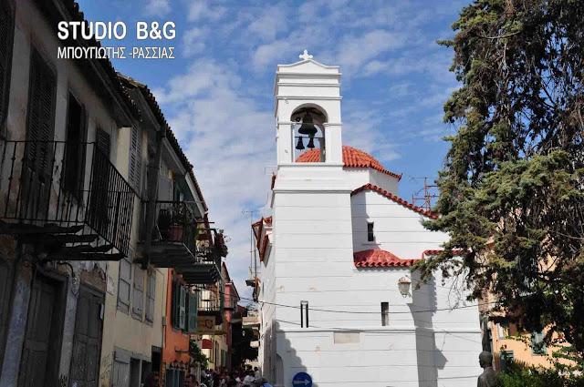 Αγιασμός στον ιστορικό Ναό Αγίου Σπυρίδωνα με μουσικό πρόγραμμα