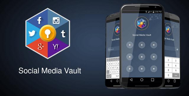 تطبيق Social Media Vault لفتح كل الحسابات الاجتماعية فى مكان واحد