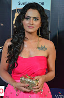 Sraddha in Sleeveless Off Shoulder Pink Dress at IIFA Utsavam Awards March 2017 013.JPG