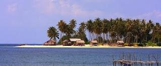 pulau kelapa kepulauan seribu indonesia