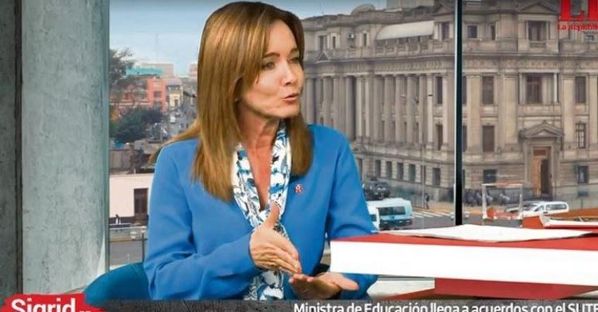 Yo no renunciaría si el presidente indulta a Fujimori (Marilú Martens Cortés) ENTREVISTA | LaRepublica.pe