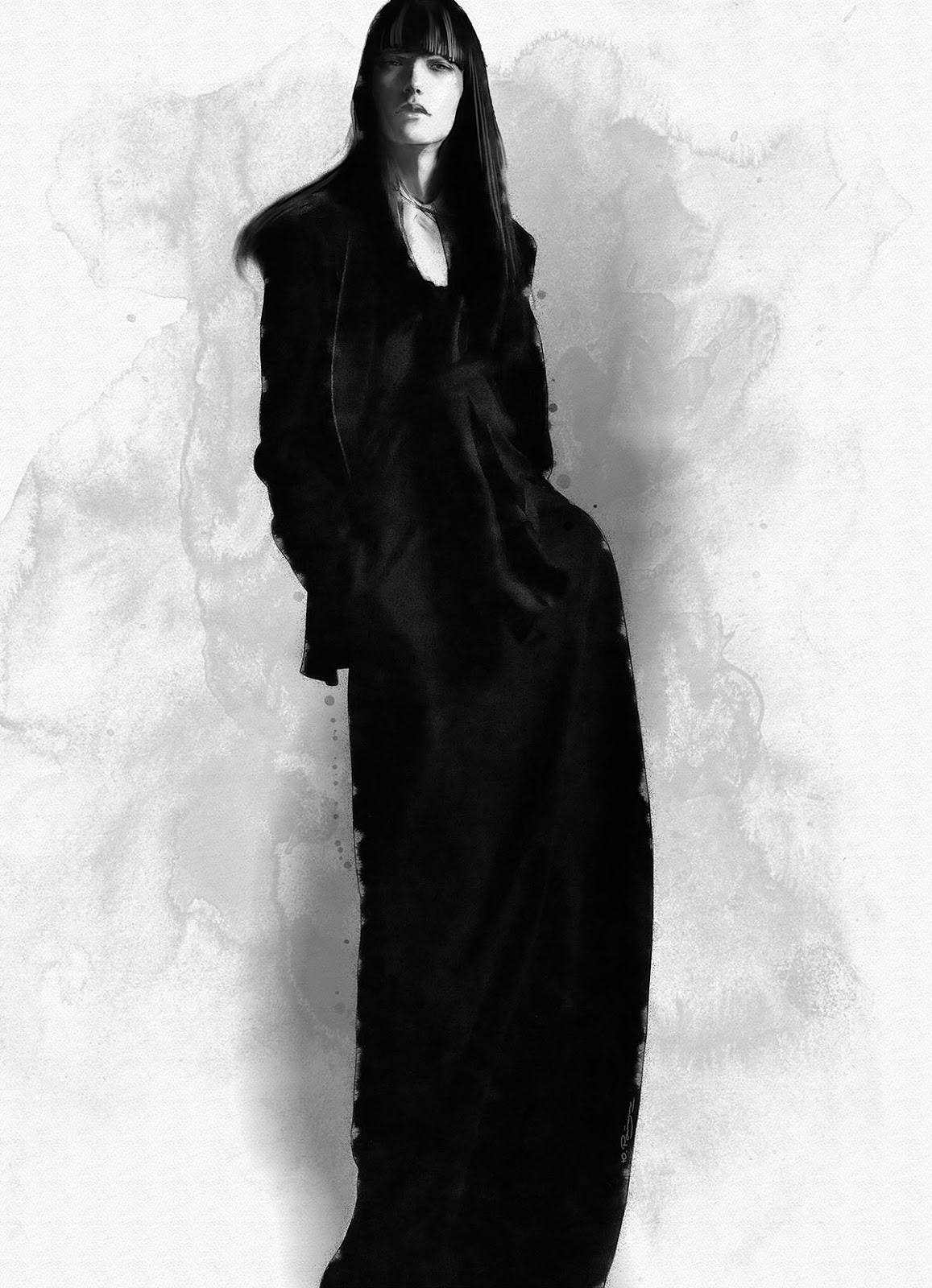 Doctor Ojiplático. Yuriy Ratush. Ilustración. Fashion Illustration
