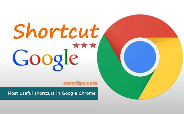 Use Google Chrome Shortcuts Frequently to Speed Up Web Browsing