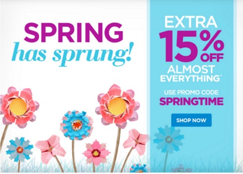 The Shopping Channel Flash Sale 15% off Spring Has Spring Promo Code