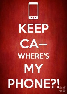 keep calm phone