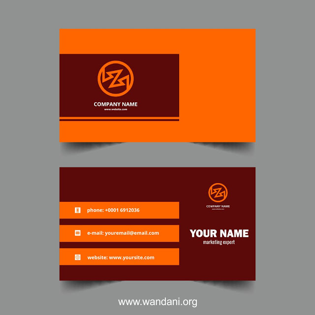 Professional Visiting Business Card Design