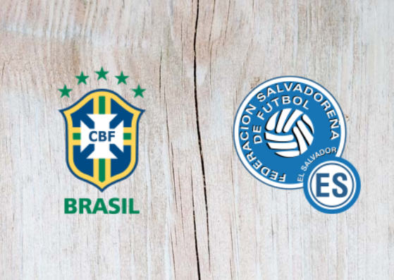El Salvador vs Brazil Full Match & Highlights 12 September 2018