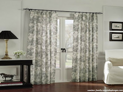 33 Model Gorden Pintu Kamar Rumah Minimalis Berbagai Pilihan